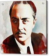 William Powell, Hollywood Legend Acrylic Print