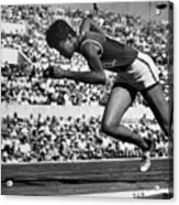 Wilma Rudolph (1940-1994) Acrylic Print by Granger