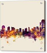 Wilmington Delaware Skyline Acrylic Print