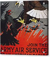 World War I: Air Service Acrylic Print by Granger