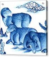 Year Of The Sheep Acrylic Print