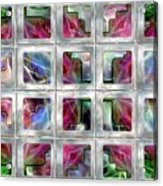 20 Deco Windows Acrylic Print