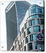 20 Fenchurch Street A Commercial Skyscraper In London Acrylic Print