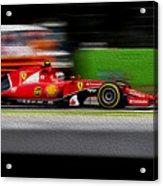 Ferrari Formula 1 Monza Acrylic Print