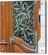 French Doors Acrylic Print