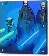 Star Wars Saga Art Acrylic Print