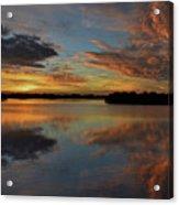 20- Sunset At Burnt Bridge Acrylic Print