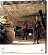 Vintage Star Wars Poster Acrylic Print