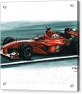 2000 Ferrari F1-2000 Acrylic Print