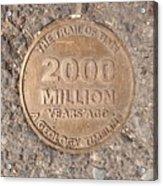 2000 Million Years Ago Acrylic Print
