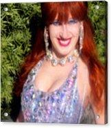 20000 Dollar Dress Of Sofia Metal Queen Acrylic Print