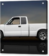 2003 Chevrolet S-10 Extended Cab Pickup Truck - Profile Acrylic Print