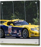 2003 Dodge Viper Gts-r At Road America Acrylic Print