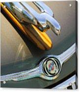 2004 Pt Cruiser Non-standard Hood Ornament Acrylic Print