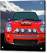 2004 S Mini Cooper Acrylic Print