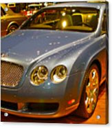 2006 Chicago 2006 Bentley Continental Gtauto Show Acrylic Print
