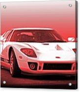 2006 Ford Production Gt Ia Acrylic Print