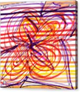 2007 Abstract Drawing 2 Acrylic Print