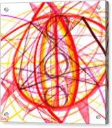 2007 Abstract Drawing 6 Acrylic Print
