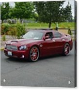 2007 Dodge Charger Couture Acrylic Print