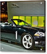 2007 Jaguar Xkr Convertible R No 1 Acrylic Print