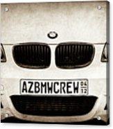 2008 Bmw Grille Emblem -1136s Acrylic Print