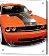 2008 Dodge Challenger Srt Muscle Car Acrylic Print
