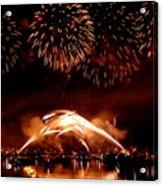 2008 Fireworks 4 Acrylic Print