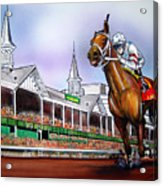2008 Kentucky Derby Winner Big Brown Acrylic Print