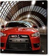 2008 Mitsubishi Lancer Evolution X Acrylic Print