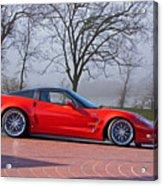 2009 Chevrolet Corvette Zr 1 Acrylic Print