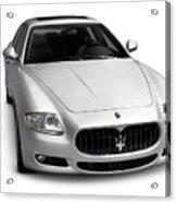 2009 Maserati Quattroporte S Acrylic Print
