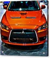2009 Mitsubishi Lancer Acrylic Print