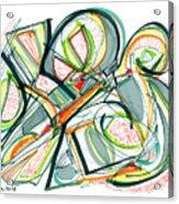 2010 Abstract Drawing Seventeen Acrylic Print