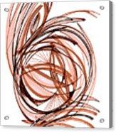 2010 Abstract Drawing Six Acrylic Print