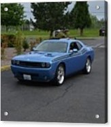 2010 Dodge Challenger Amilowski Acrylic Print