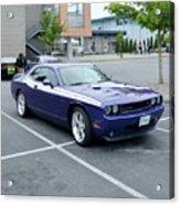 2010 Dodge Challenger Rt Lyster Acrylic Print