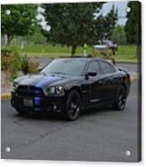 2011 Dodge Charger Rt Lopez Acrylic Print