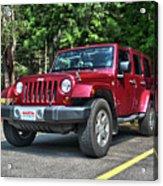 2011 Jeep Wrangler Acrylic Print