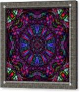 20110413-castlewindow-uk25-k12-v04 Acrylic Print