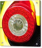 2012 Ferrari 458 Spider Brake Light Acrylic Print