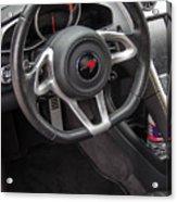 2012 Mc Laren Steering Wheel Acrylic Print