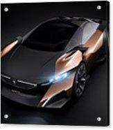 2012 Peugeot Onyx Concept Acrylic Print