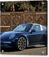 2014 Porsche 911 Targa 4s I Acrylic Print