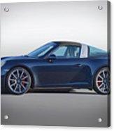2014 Porsche 911 Targa 4s 'studio' Acrylic Print