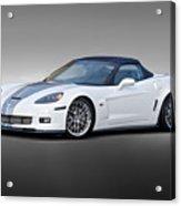 2014 Corvette Zo6 Convertible Acrylic Print
