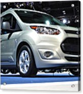 2014 Ford Transit Connect Wagon Acrylic Print