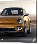 2014 Volkswagen Beetle Dune Concept Acrylic Print
