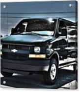 2015 Chevrolet Express Van Acrylic Print