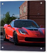 2015 Corvette Stingray  Acrylic Print